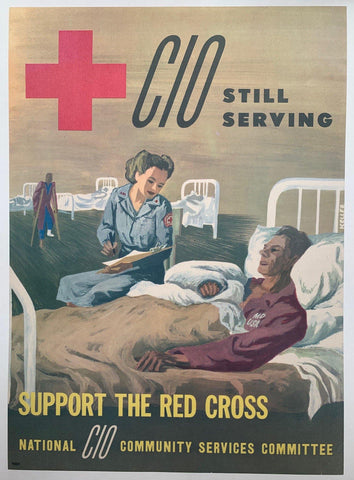 CIO Still Serving. Support the Red Cross.