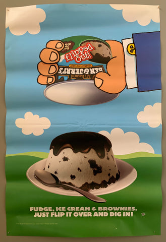 Ben & Jerry's Flipped Out Poster