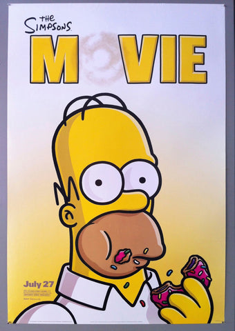 The Simpsons Movie Poster Museum