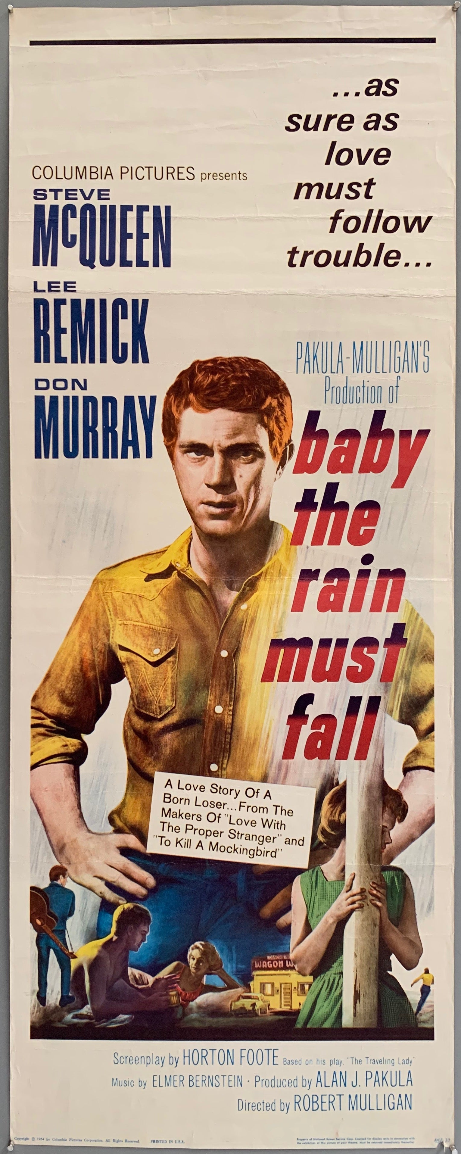 Baby the Rain Must Fall Poster