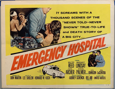 people fighting emergency hospital movie poster true to life and death story of big city