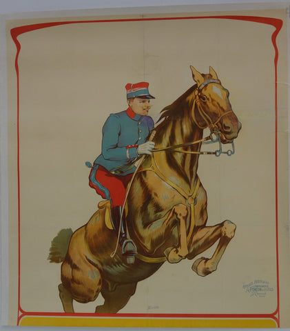 Affiches Artistiques Jumping Horse