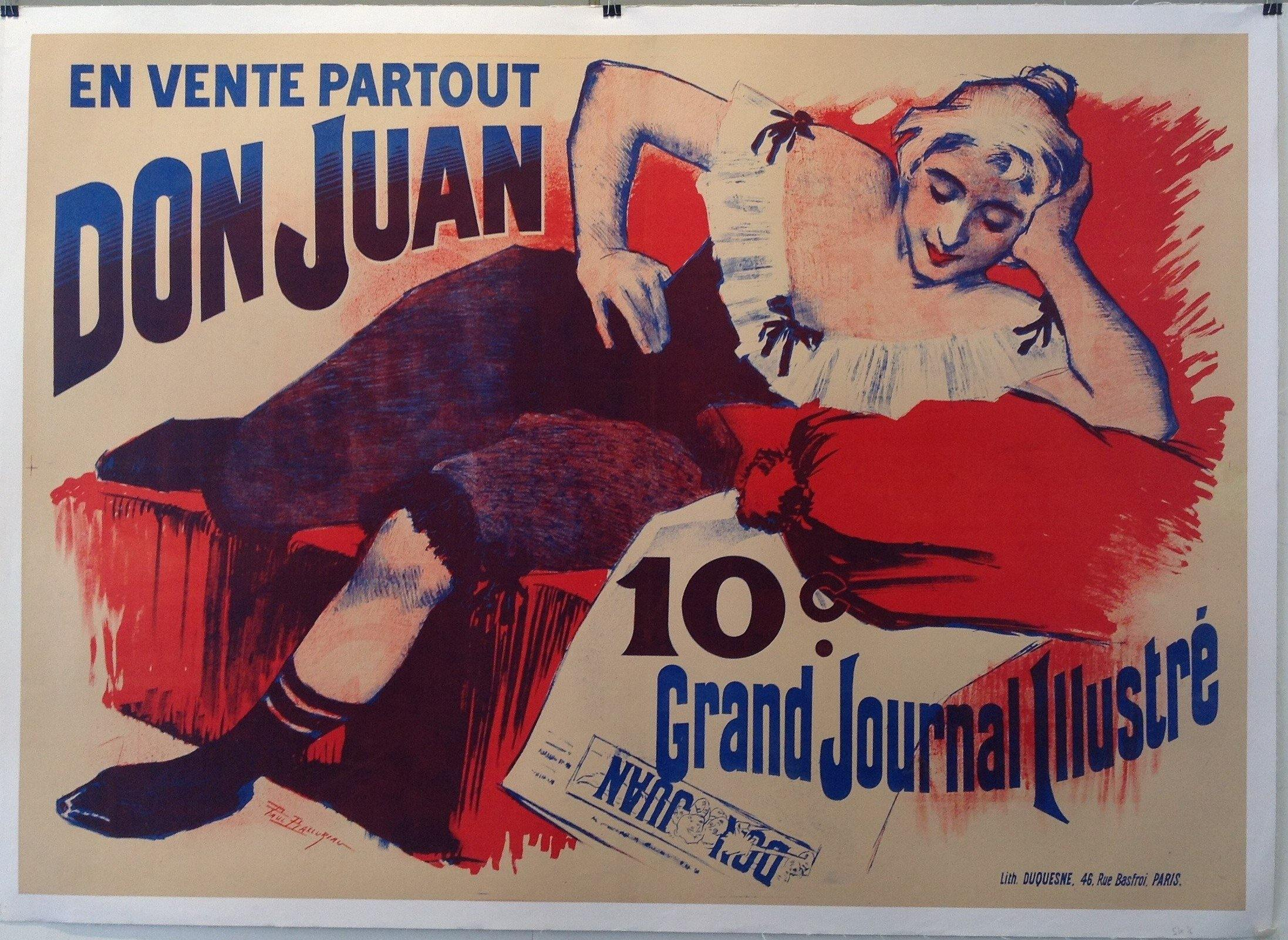 Don Juan, Grand Journal Illustré