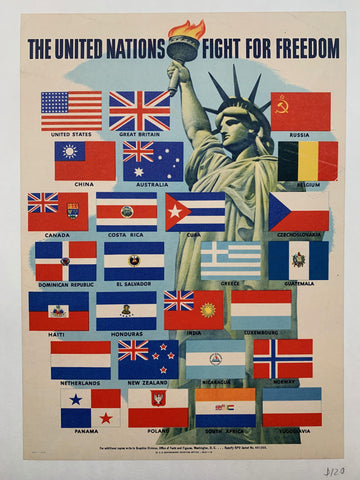 The United Nations Fight for Freedom. - Poster Museum