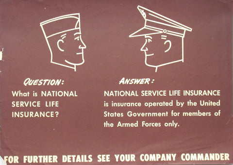 "WW2 Insurance Question: ""What is-"""