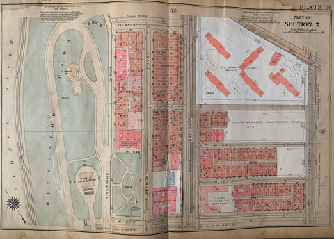 Atlas of the City of New York  Borough of the Bronx (Volume 4) 28