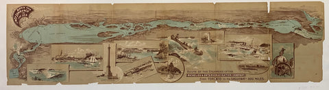 Route of the Steamers of the Richelieu & Ontario Navigation Company