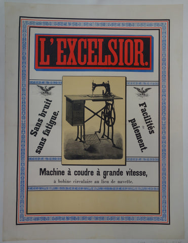 L'Excelsior Sewing Machines