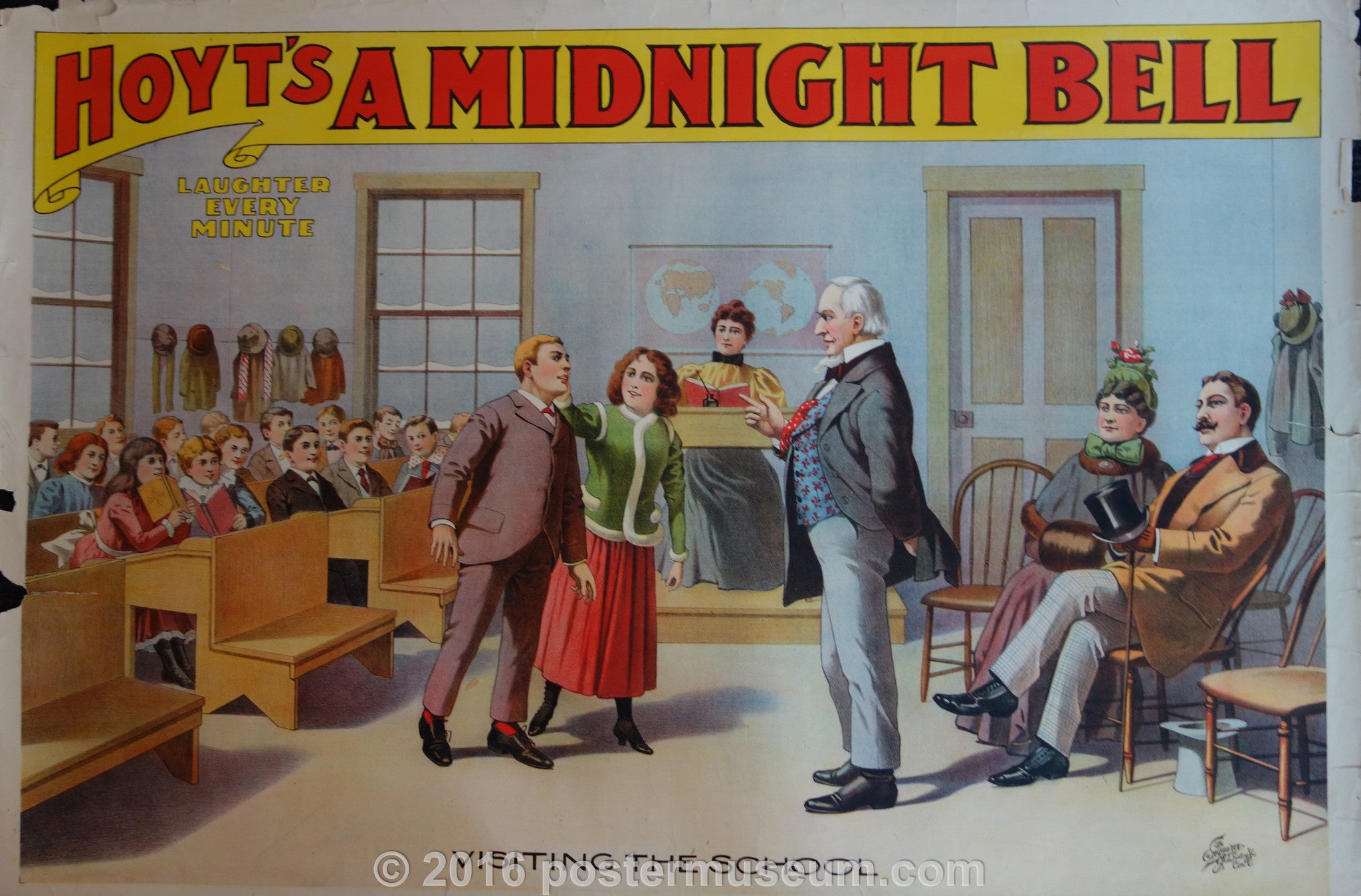 Hoyt's a Midnight Bell: Visiting the school