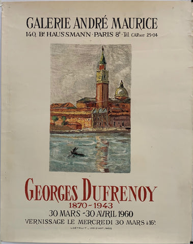 Galerie Andre Maruice - Georges Dufrenoy