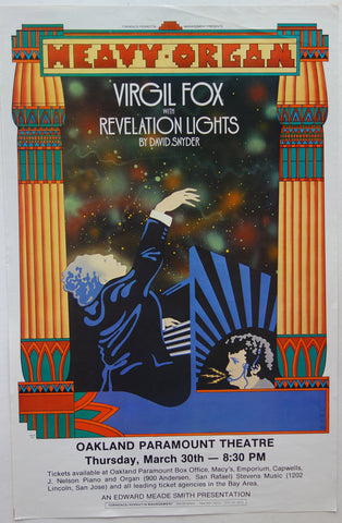 Virgil Fox with Revelation Lights