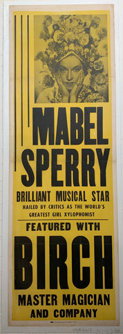 Mabel Sperry Brilliant Musical Star
