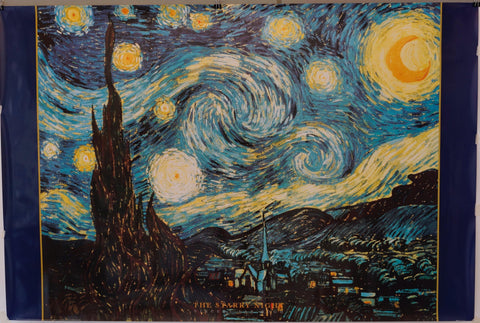 The Starry Night by Vincent Van Gogh - Poster Museum