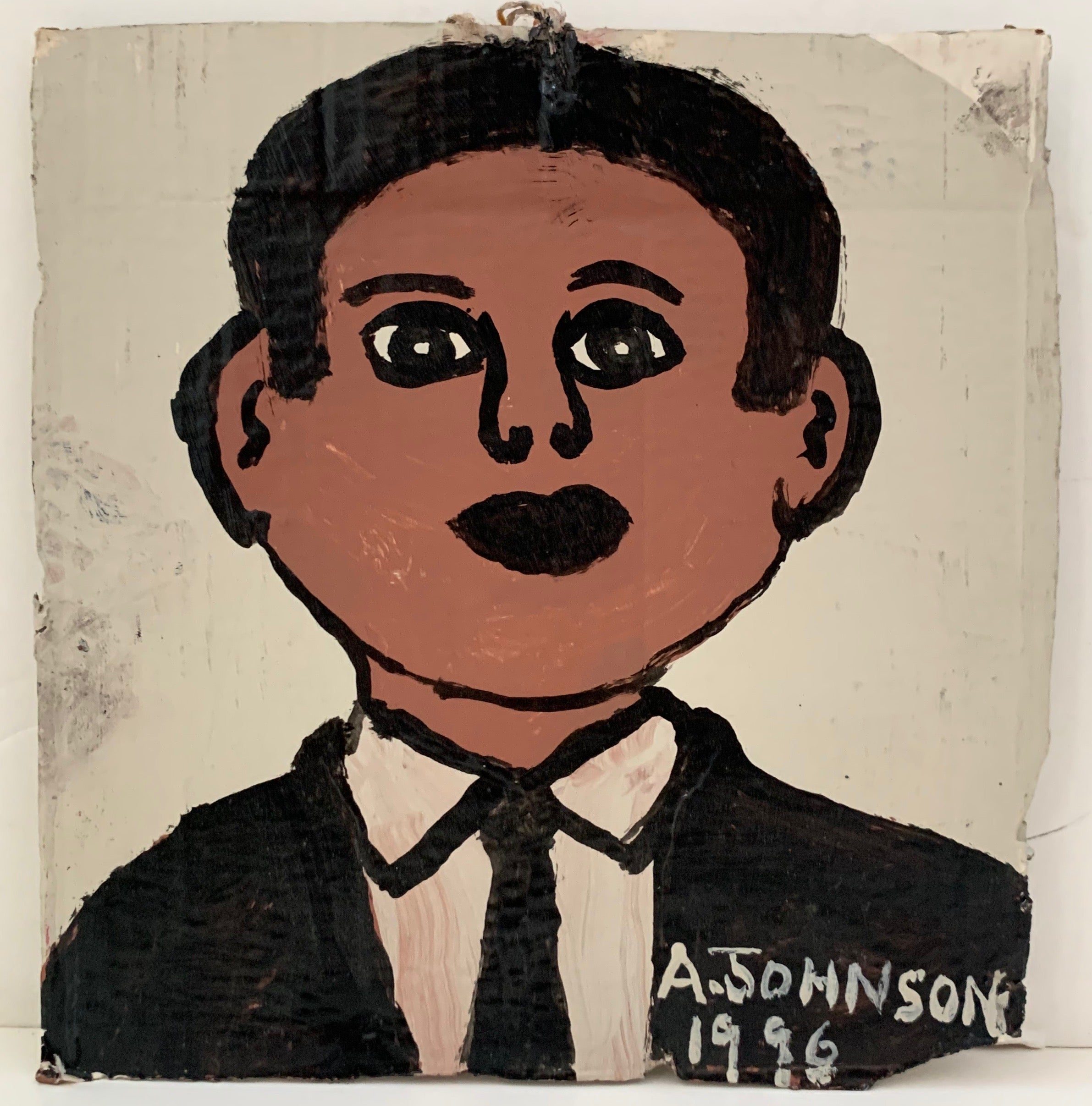 Man in Suit Anderson Johnson Painting