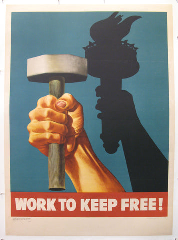 Work To Keep Free!