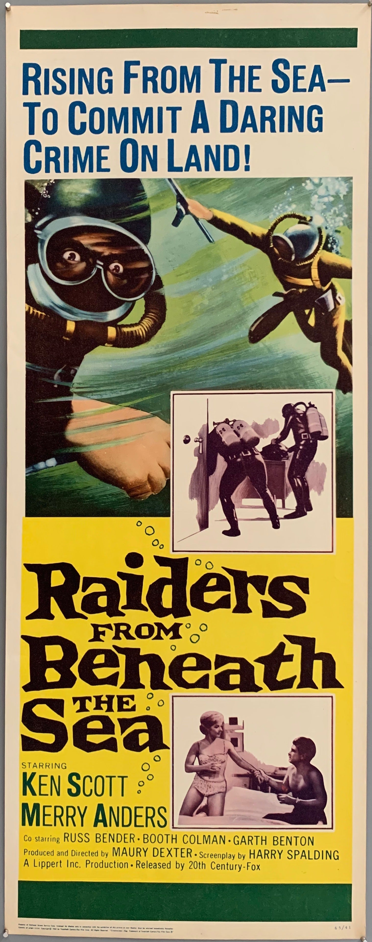 Raiders from Beneath the Sea Poster