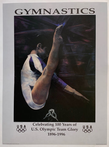 Gymnastics - Celebrating 100 Years of U.S. Olympic Team Glory 1896-1996