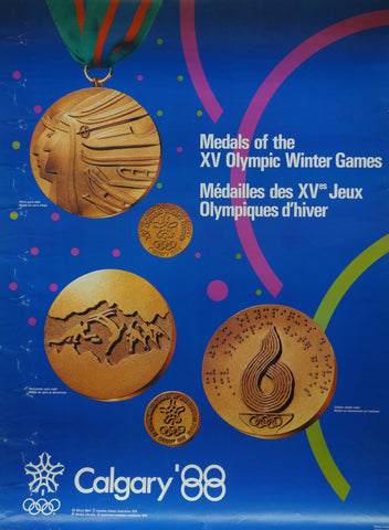 Medals of the XV Olympic Winter Games