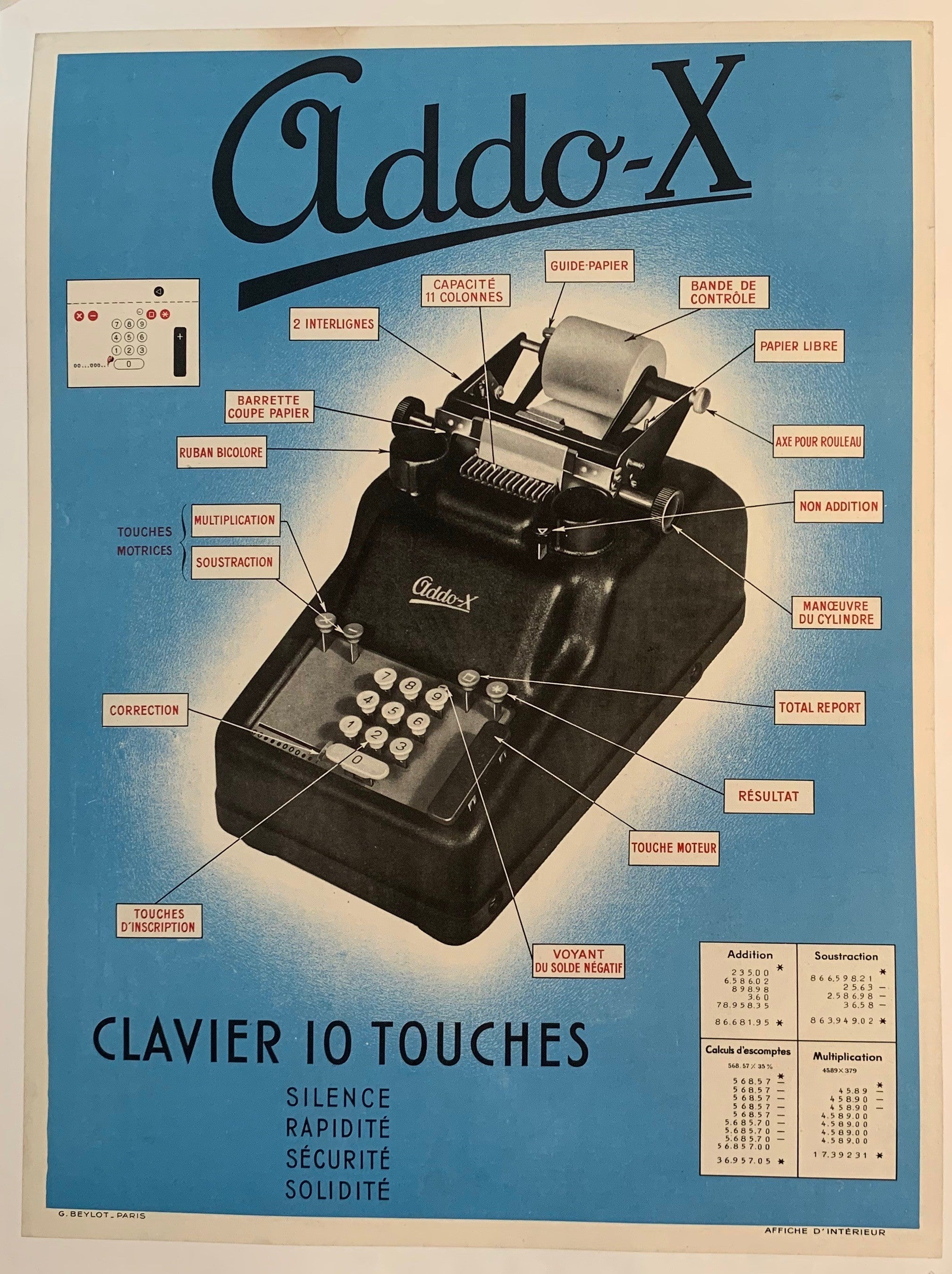 Addo-X Clavier 10 Touches