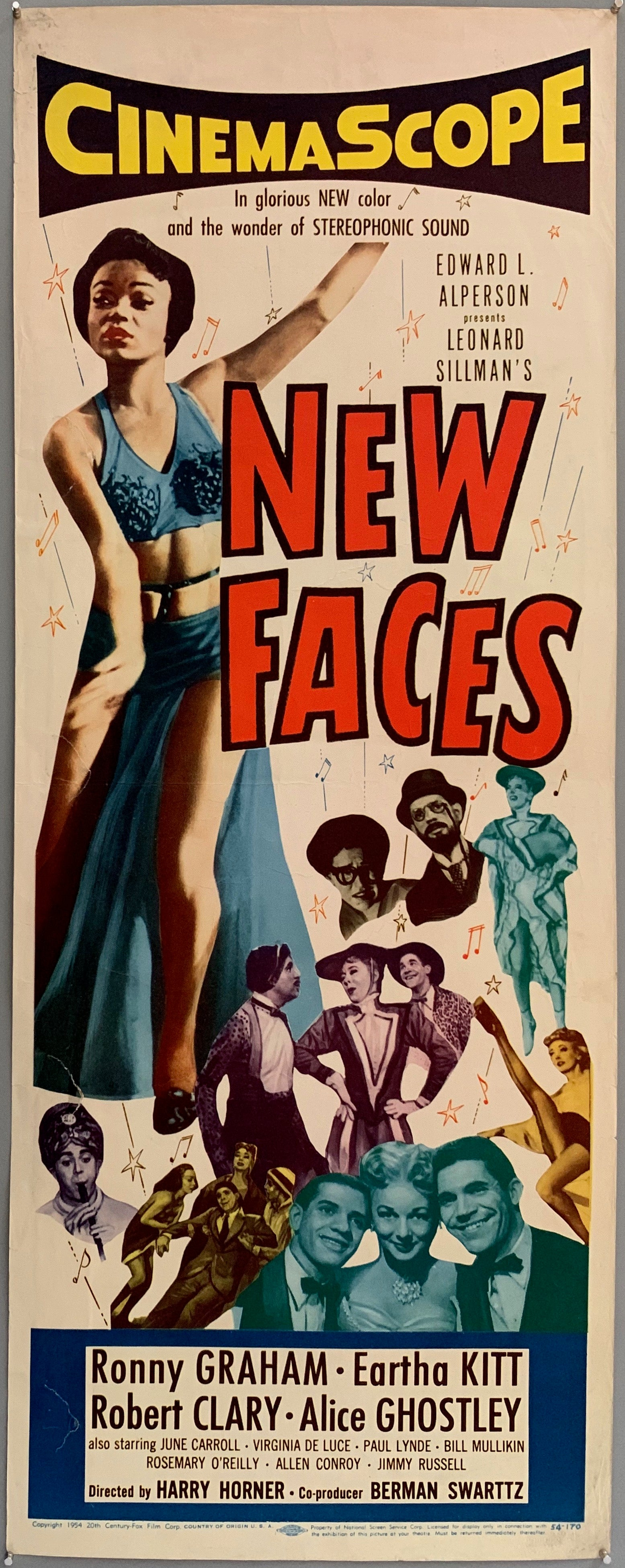 New Faces Poster