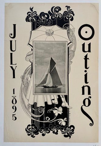 July 1895 Outing - Poster Museum