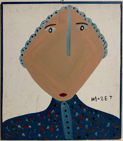 Concerned Person Mose Tolliver Painting