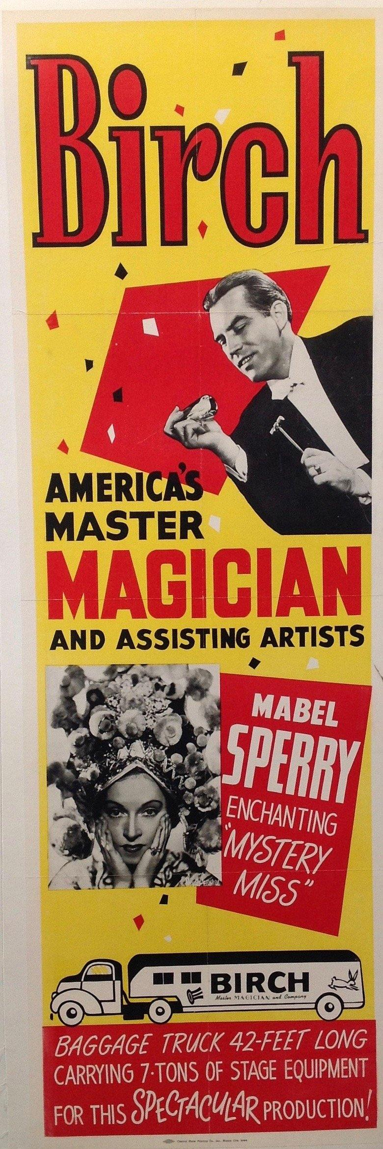 Birch Magician Advertisement