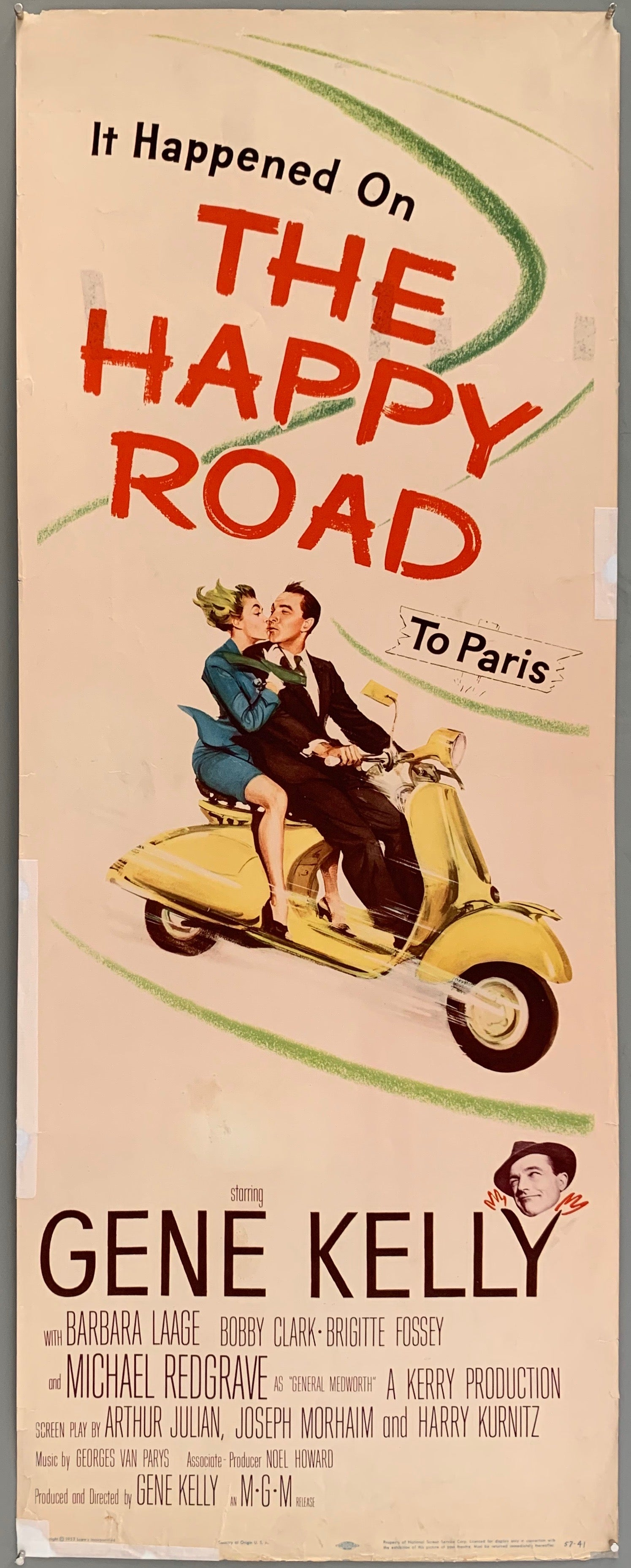 The Happy Road Poster