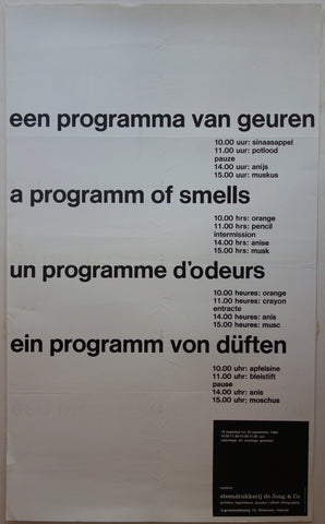 A Programm of Smells