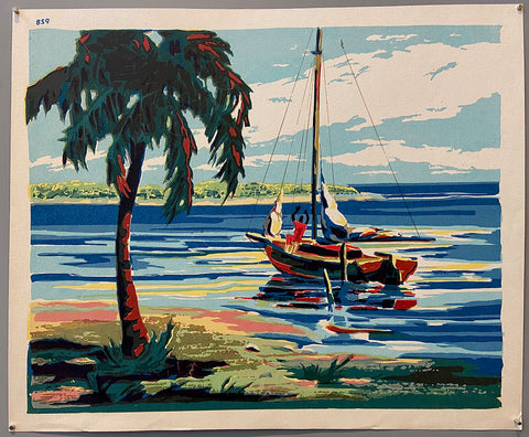 Tropical Fishing Print