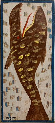 Brown Fish Mose Tolliver Painting