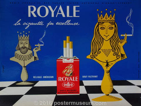 Royale La Cigarette par excellence chess game