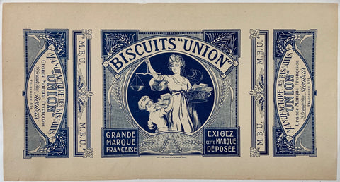 Biscuits Union Box label