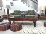 Beni Ourain Carpet - 187x127cm 2-Seat Sofa - MARK - Black Dots (very rare) - meduimnv13