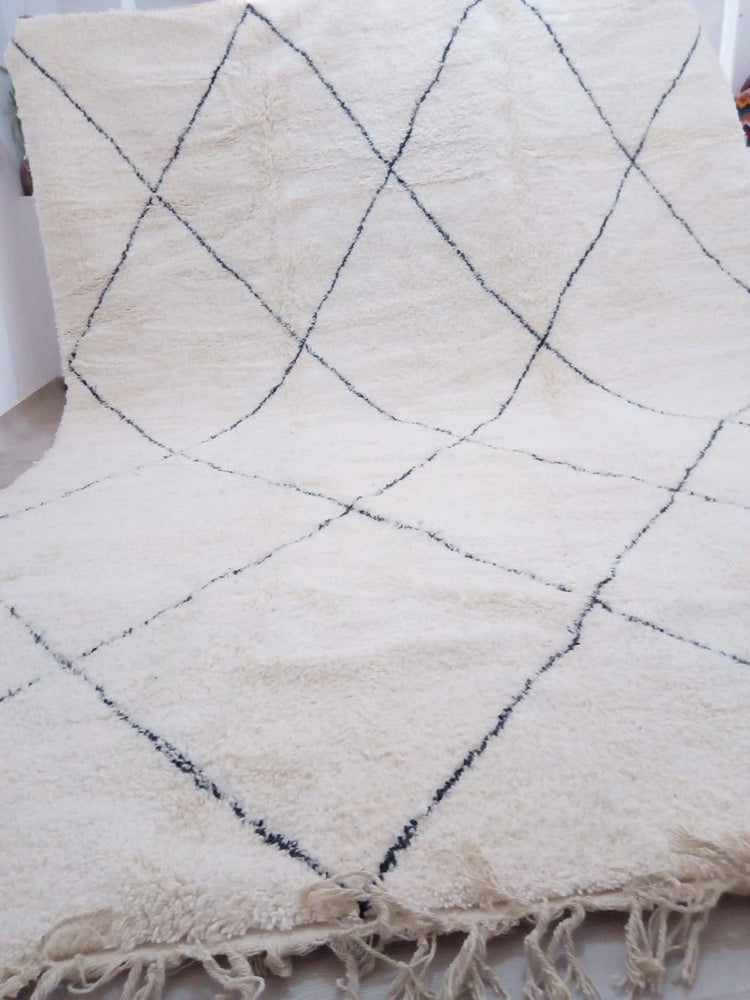 Load image into Gallery viewer, Beni Ourain Carpet - 430cmx310cm XXL - Dubai - Natural Wool - APOL05