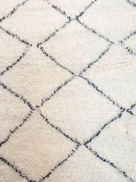 Beni Ourain Carpet - 283x200cm - Shouf - Natural Wool - T03