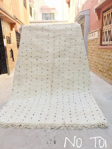 Beni Ourain Carpet - 310x210cm - Nada - Natural Wool - T01