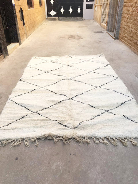 Beni Ourain Carpet - 300x205cm - Shakira - Natural Wool - T23