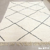 Beni Ourain Carpet - 320x215cm - ASIA - Natural Wool - AT11