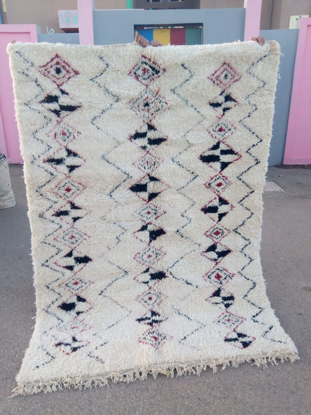 Azilal Carpet - 235x167cm - BARBAKAN - Natural Wool - Azilal6