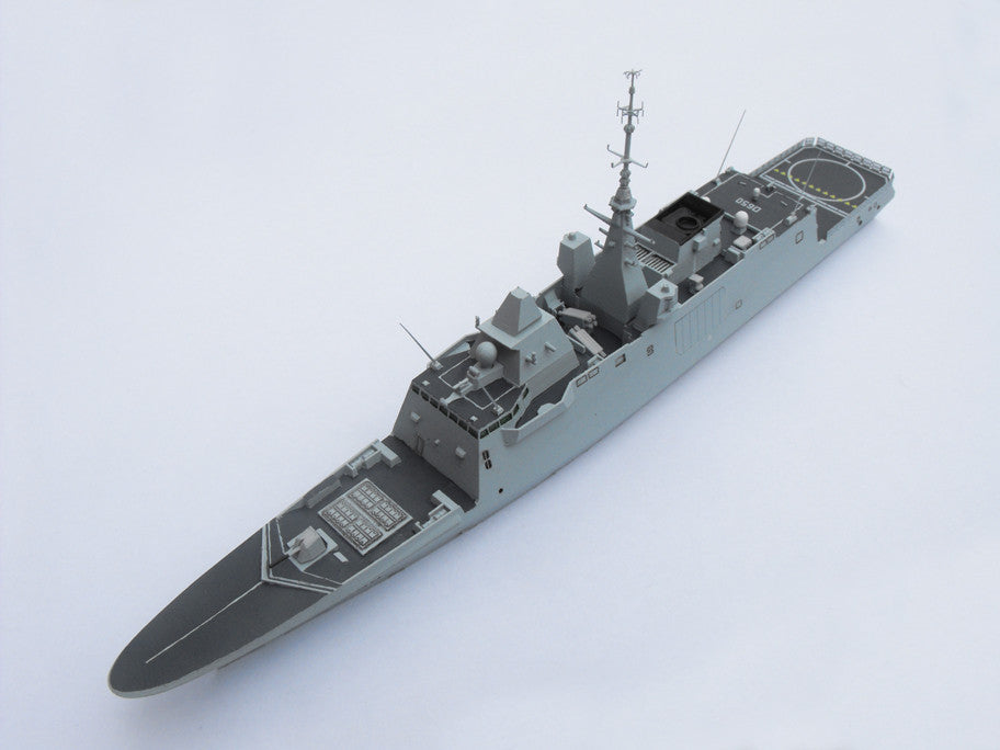 1/700 French Aquitaine FREMM Class Frigate (Anti Submarine Warfare)