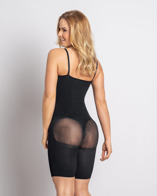 Full Coverage Seamless Smoothing Bodysuit