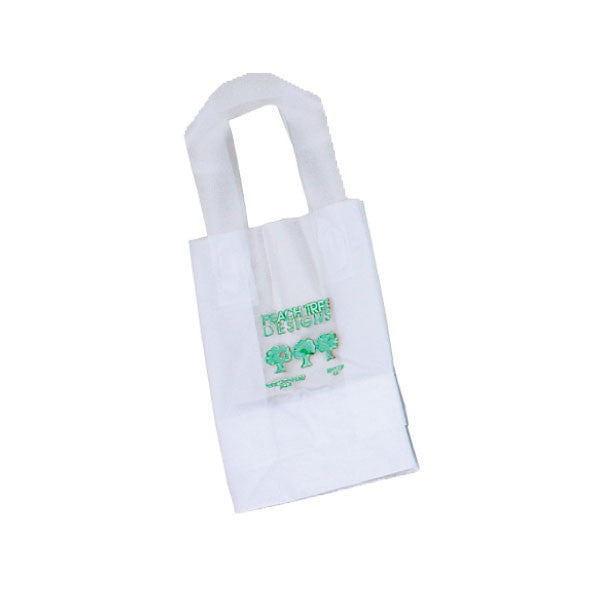 Frosty Clear Shopping Bags