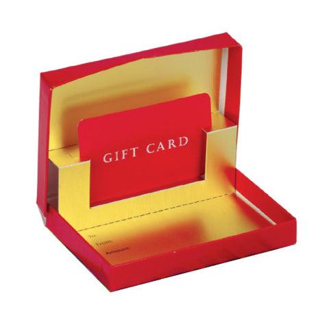 Presentational Pop-Up Gift Card Boxes