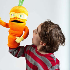 "18"" Colby Carrot Plush Puppet"