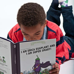 Vol. 3: I Am Erica Eggplant and I Am Super Smart (Picture / Adventure Book)