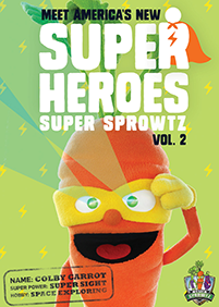 Meet the Super Sprowtz DVD!