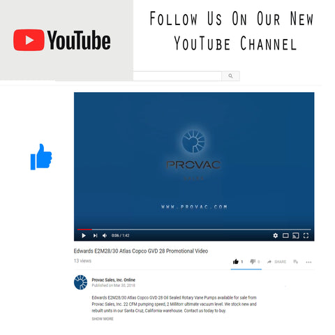 Provac Sales, Inc. YouTube Channel