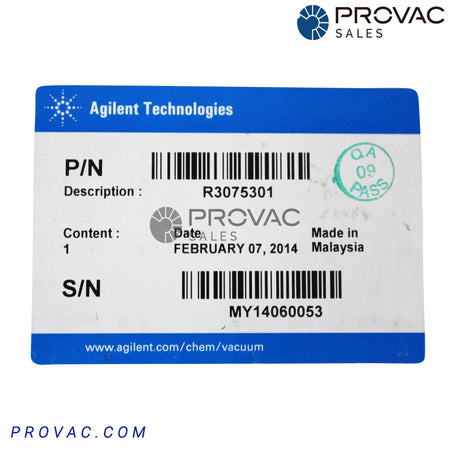 Agilent XGS-600 Hot Filament Ion Gauge Card, P/N R3075301 Image 3
