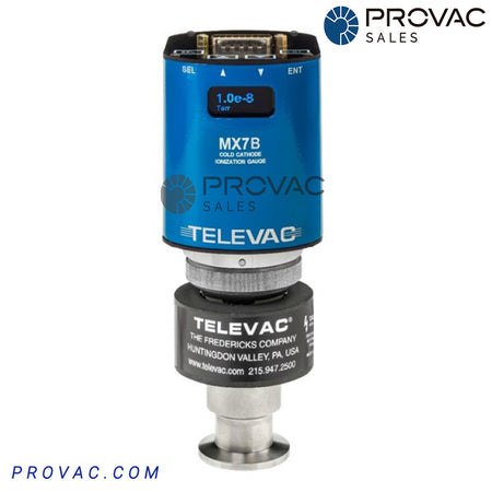 Televac MX7B Cold Cathode Ionization Active Gauge Image 1